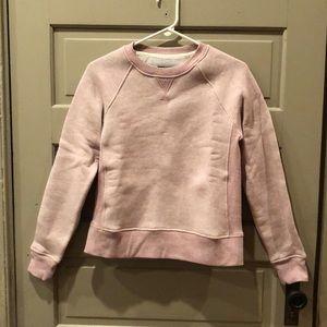 Rag & Bone plush light pink sweater